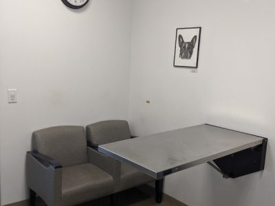 One of the exam rooms available for your pet's treatment